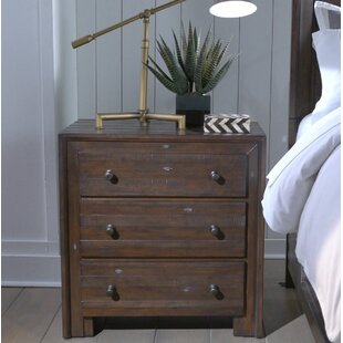 Van Reipen 3 Drawer Nightstand