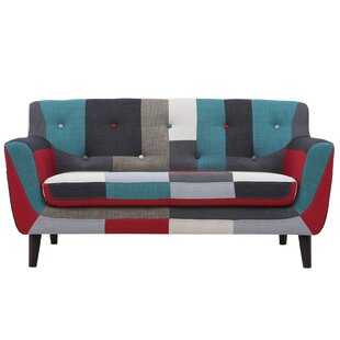 Great choice Gerold Checkered Loveseat by Wrought Studio Reviews (2019) & Buyer's Guide