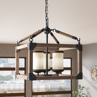 17 Stories Isidoro 3-Light Lantern Pendant