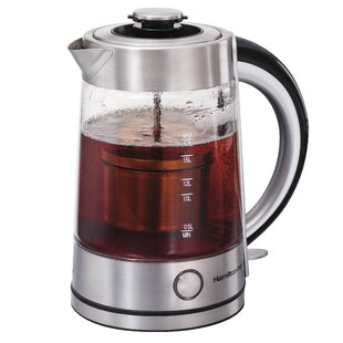 1.7 Qt. Steeping Glass Electric Tea Kettle
