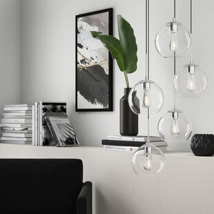 Yearwood 5-Light Cluster Pendant by Mercury Row
