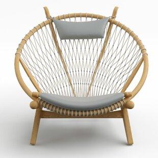 Yelverton Papasan Chair by Bungalow Rose