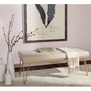 Mercury Row Varner Linen Bench