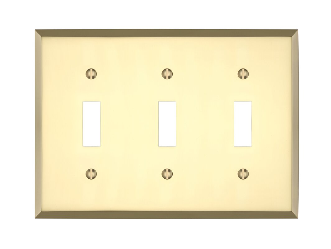 Maykke Graham Triple Light Switch Cover & Reviews | Wayfair