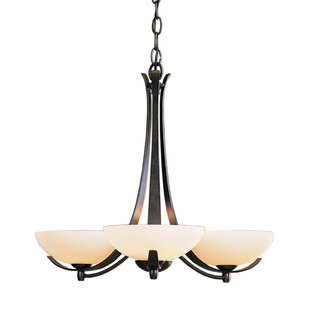 Hubbardton Forge Aegis 3-Light Shaded Chandelier