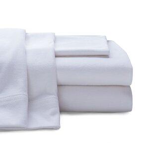 Albury Super Soft 100% Cotton Jersey Sheet Set (Set of 4) ByRosecliff Heights