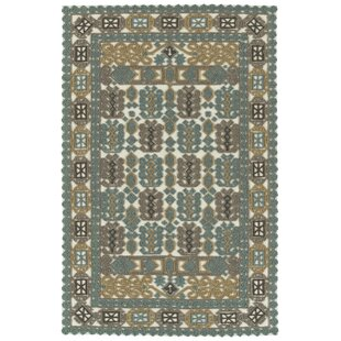 Poynor Hand-Tufted Spa Indoor/Outdoor Area Rug