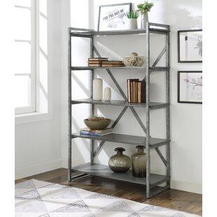 Gracie Oaks Burman Etagere Bookcase
