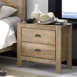 Montauk 2 Drawer Nightstand by Grain Wood Furniture