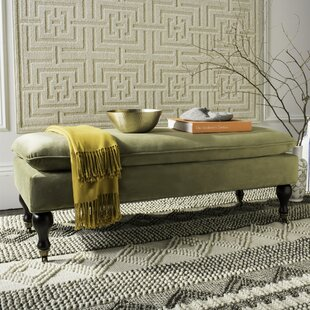 Safavieh Maggie Robins Egg Pillowtop Upholstered Bench