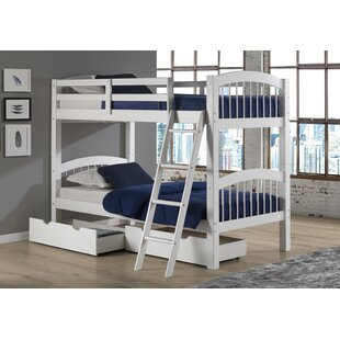 Bechtol Twin Bunk Bed with Storage Drawers by Harriet Bee