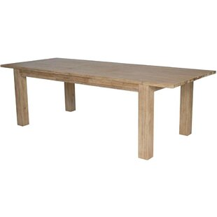 Bloomville Extendable Solid Wood Dining Table by Foundry Select