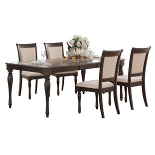 Scoggins 5 Piece Extendable Dining Set by..