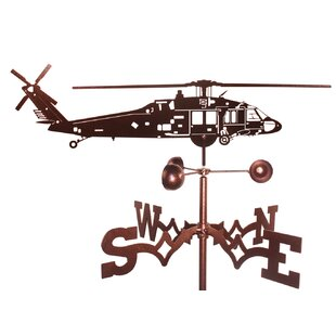 Black Hawk Helicopter Weathervane by SWEN Products
