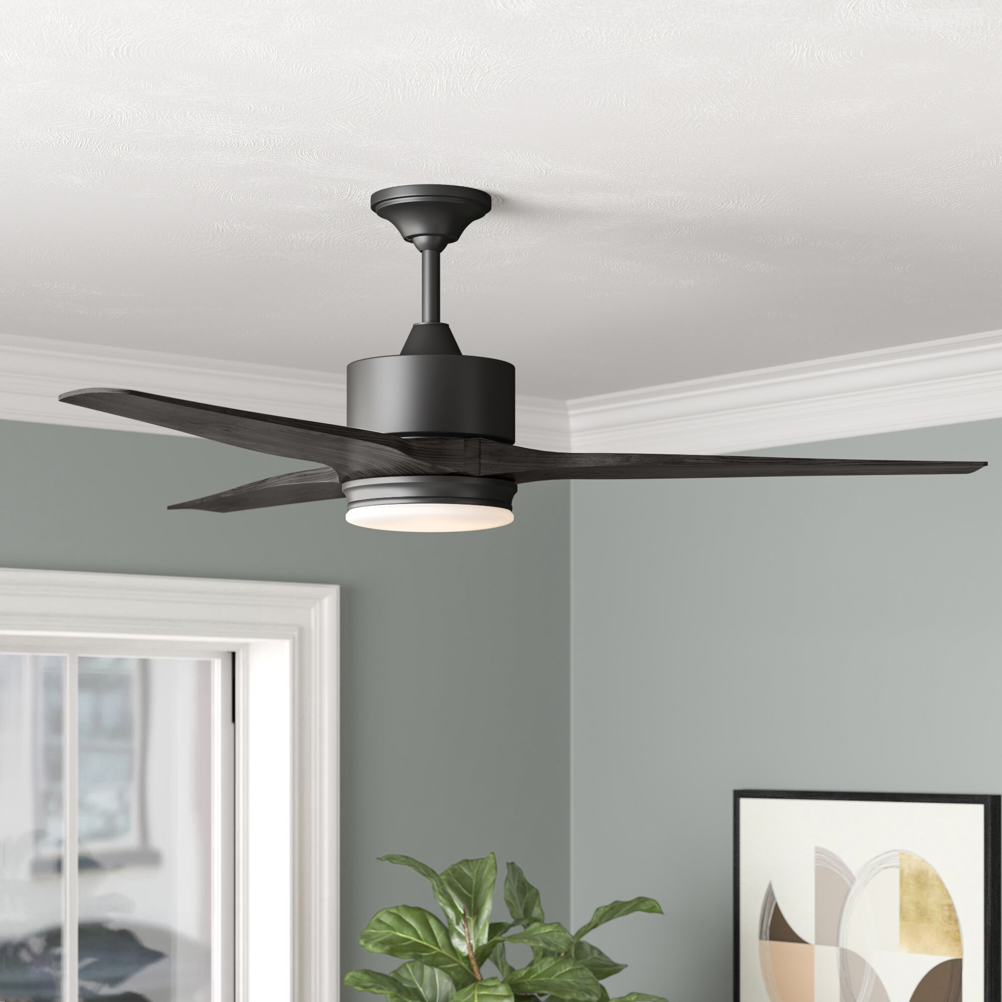 Ceiling Fans With Lights You Ll Love In 2020 Wayfair,Barbra Streisand Home
