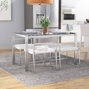 Gary 5 Piece Dining Set Wade Logan