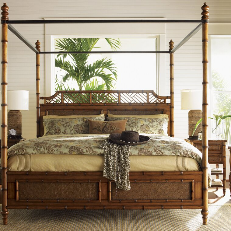 island estates canopy bed - King Canopy Bed Frame