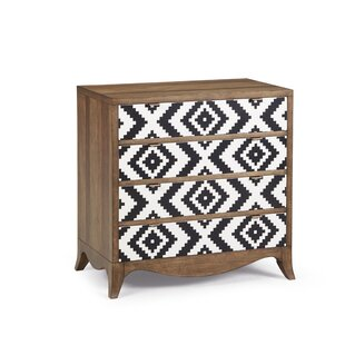 World Menagerie Calhoun Bachelor 4 Drawer Accent Chest Image
