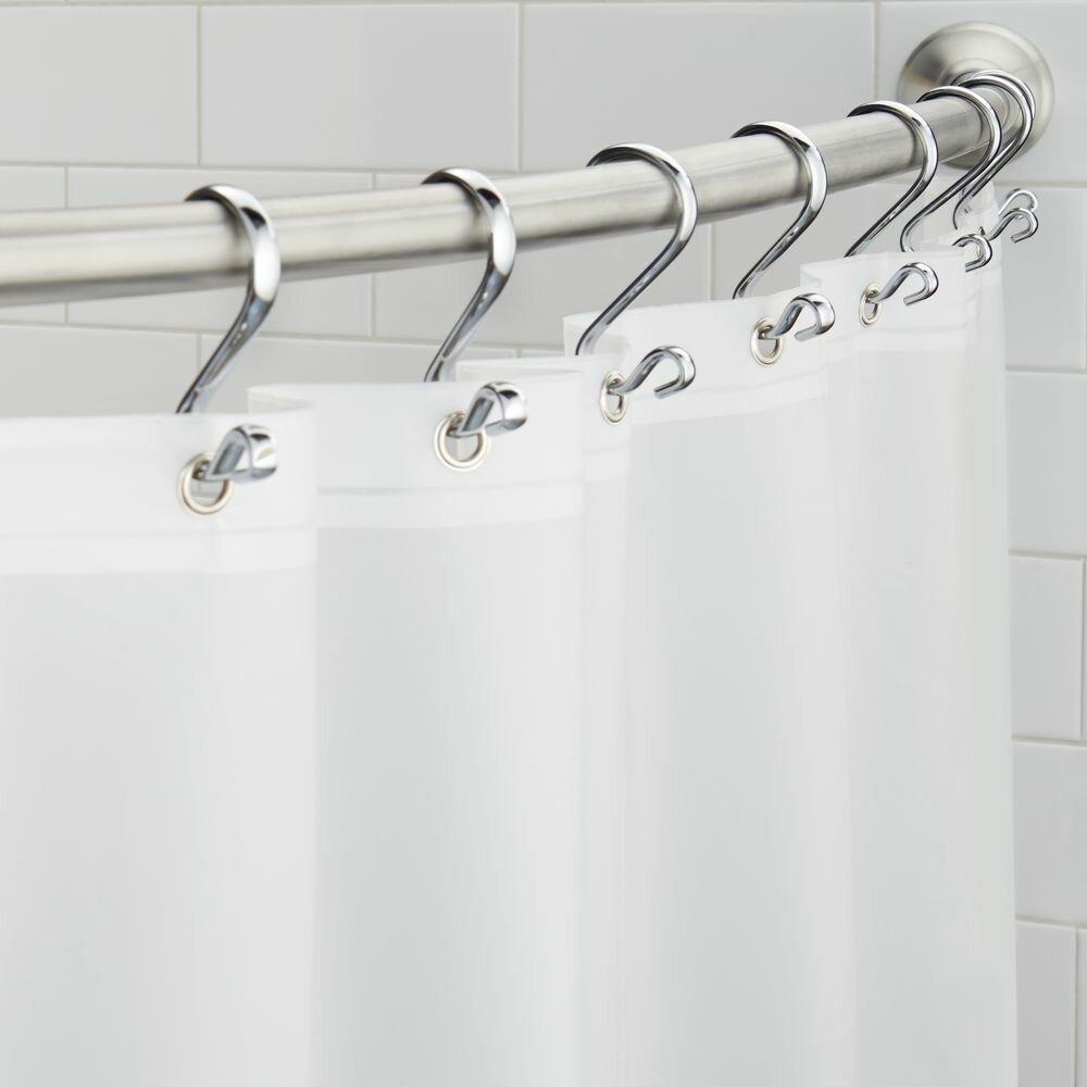InterDesign Ellie PEVA Shower Curtain Liner Reviews