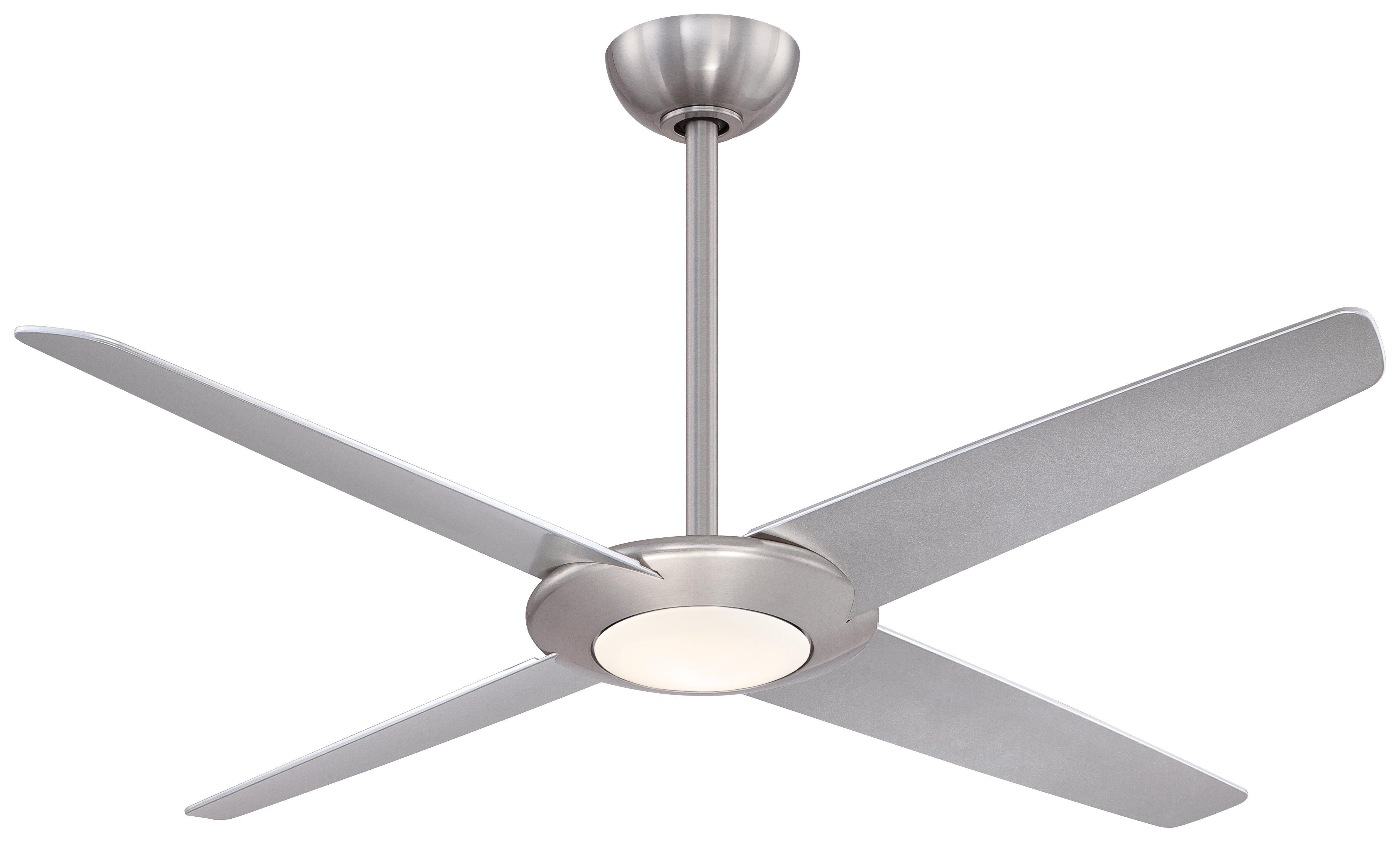 """Minka Aire 62"""" Pancake LED 4 Blade Ceiling Fan with Remote"""