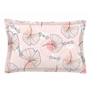 Mmartabc 'Pattern Flowers and Dragonflies' Illustration Sham