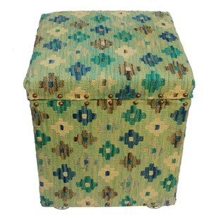 Titus Kilim Storage Ottoman by August Grove