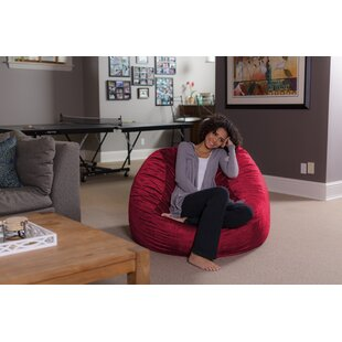 Red bean bag chairs youll love wayfair save to idea board solutioingenieria Image collections