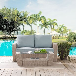 Boomer 2 Piece Sofa Set with Cushions