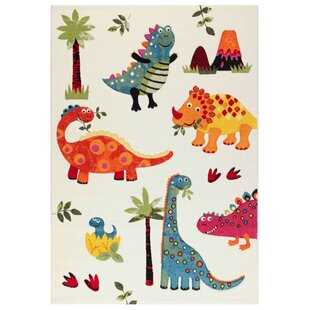 Dino Premium Ivory Rug by Home Loft Concept