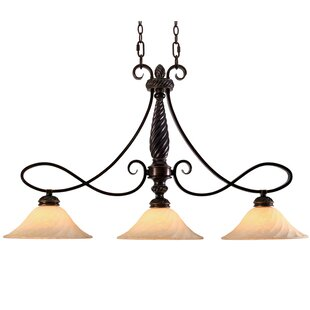 Darby Home Co Hoopeston 3-Light Kitchen Island Pendant