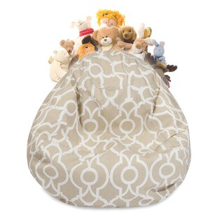 Montalvo Stuffed Animal Toy Storage Bean Bag Chair By Winston Porter
