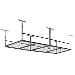Overhead Garage Adjustable Ceiling Storage Rack  sc 1 st  Wayfair & Storage Shelves u0026 Shelving Units Youu0027ll Love | Wayfair
