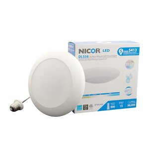 NICOR Lighting LED Recessed Retrofit Downlight
