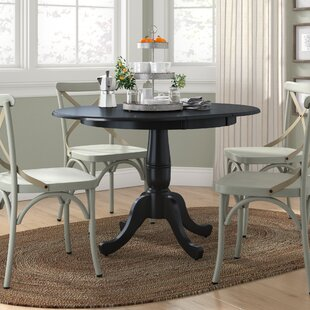 Overbay Extendable Solid Wood Dining Table