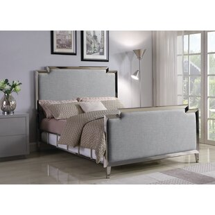 Colrain Upholstered Panel Bed by Everly Quinn