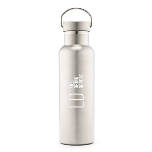 Sayles Modern Logo Print Personalized 25 oz. Stainless Steel Water Bottle