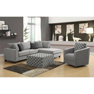 Kulp 4 Piece Living Room Set by Latitude Run