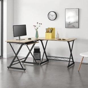 Aliane L-Shape Desk By Ebern Designs
