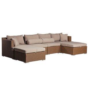 Teagarden Patio Sectional with Cushions