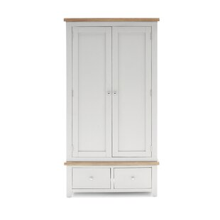 Bellefonte 2 Door Wardrobe By Beachcrest Home