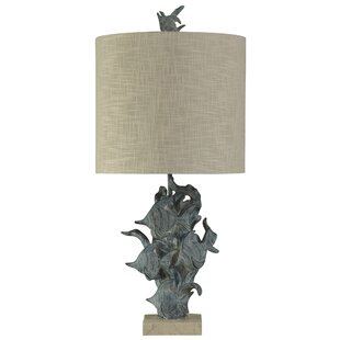 Buying Royal Hand Carved Fish Underwater 33 Table Lamp By Highland Dunes