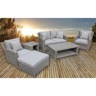 Gardiner 6 Piece Sofa Set with Cushions