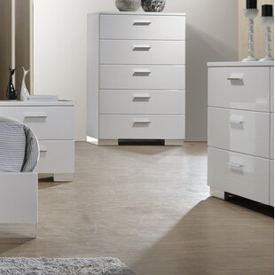 Orren Ellis Gideon 5 Drawer Chest