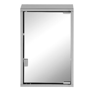 Laursen 45cm X 30cm Surface Mount	Mirror Cabinet By Belfry Bathroom