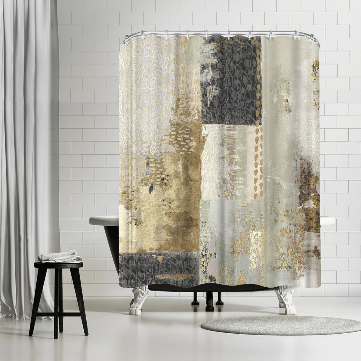 East Urban Home Pi Creative Art Bare I Single Shower Curtain Reviews Wayfair