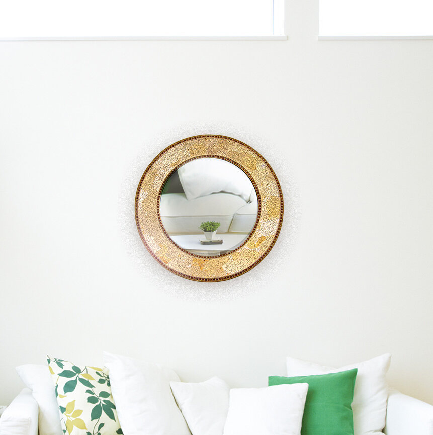 World Menagerie Crissom Decorative Modern Contemporary Wall Mirror Reviews Wayfair