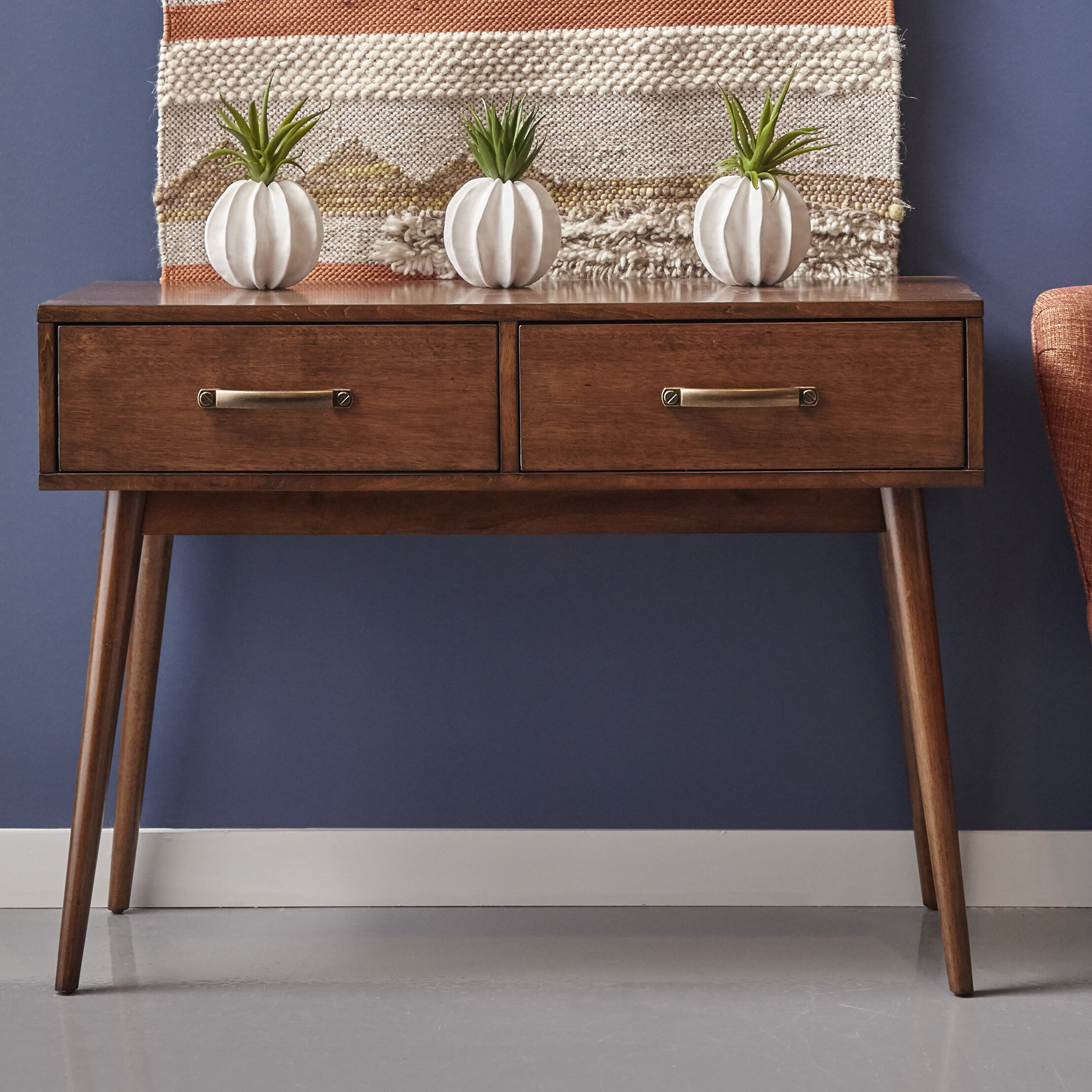 George Oliver Ripton Mid Century Modern Console Table Reviews Rh Wayfair Com Furniture Online For