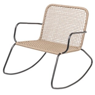Terese Woven Rope Rocking Chair (Set of 2) by Wrought Studio