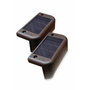 Maxsa Innovations 2-Light Deck Light (Set of 4)
