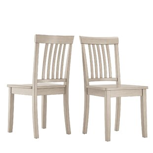 August Grove Alverson Solid Wood Dining Chair (Set of 2)